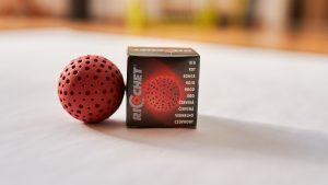 Ricochet Ball in der Farbe Rot für Einsteiger und Fortgeschrittene
