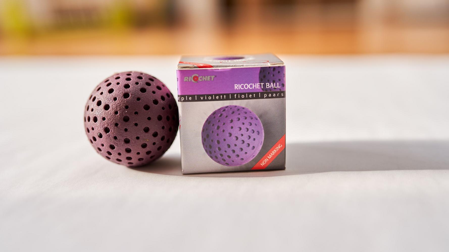 Ricochet Ball in der Farbe Violett für Einsteiger