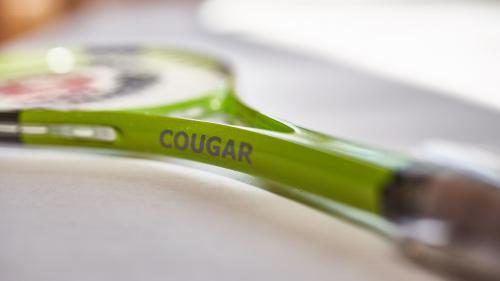 Ricochet Schlaeger Cougar von der Seite