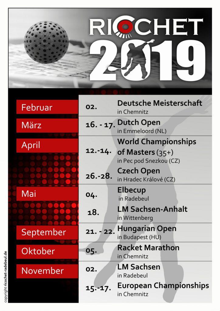 Ricochet Turniere 2019